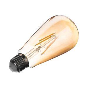 لامپ 4 وات حبابی فیلامنتی افراتاب