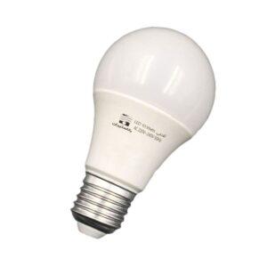 لامپ 10 وات حبابی ای 27 بالاستیران