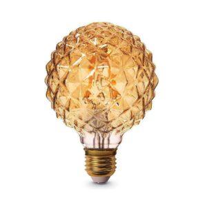 لامپ 4 وات فلامینتی کروی ای 27 بروکس