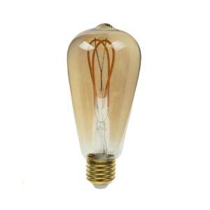 لامپ 4 وات فلامینتی توت گلابی ای 27 بروکس