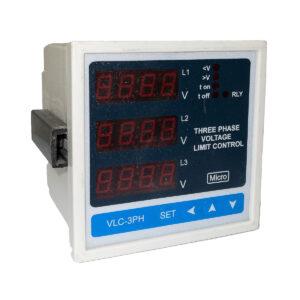 کنترل ولتاژ دیجیتال سه فاز تابلویی میکرومکس