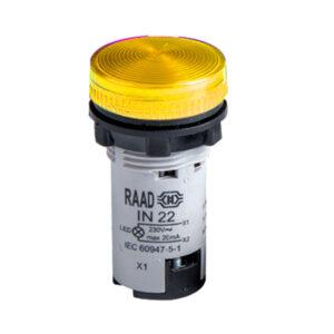 چراغ سیگنال LED قابل تعویض رعد الکتریک